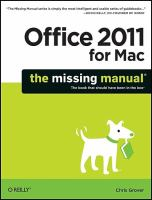 Office 2011 for Macintosh