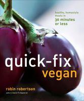 Quick-fix Vegan