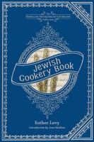 Jewish Cookery Book, Or, Principles of Economy
