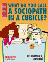 What Do You Call A Sociopath in A Cubicle?
