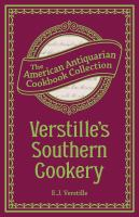 Verstille's Southern Cookery