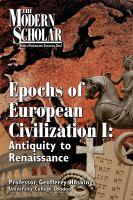 Epochs of European Civilization