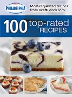 Kraft Philadelphia 100 Top-rated Recipes