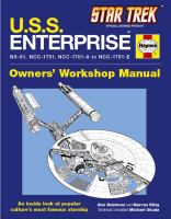 U.S.S. Enterprise 2151 Onwards (NX-01, NCC-1701, NCC-1701-A to NCC-1701-E)