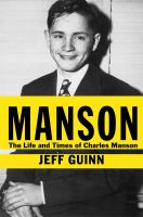 Cover of Manson: The Life and Times