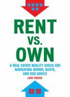 Rent Vs. Own