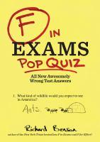 F in Exams Pop Quiz