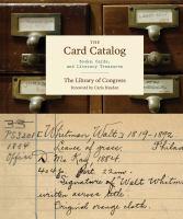 The Card Catalog