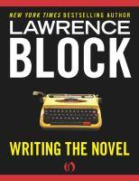 Writing the Novel