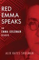 Red Emma Speaks