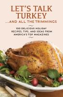 Let's Talk Turkey -- and All the Trimmings
