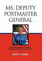 Ms. Deputy Postmaster General