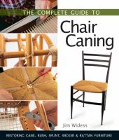 The Complete Guide to Chair Caning