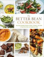 The Better Bean Cookbook