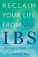 Reclaim your Life From IBS