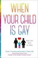 When Your Child Is Gay