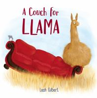 A couch for llama