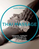 The Thai Massage Manual