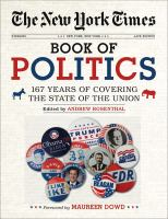 The New York Times Book of Politics