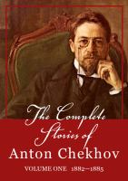 The Complete Stories of Anton Chekhov