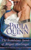 Scandalous Secret of Abigail MacGregor