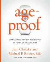 Ageproof : living longer without running out of money or breaking a hip
