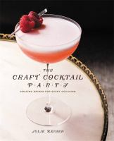 The Craft Cocktail Party