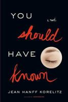 Image: You Should Have Known