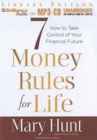 7 Money Rules for Life