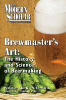The Brewmaster's Art