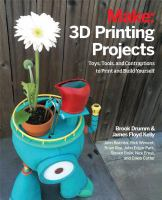 Make - 3d Printing Projects