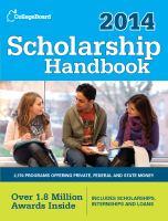 Scholarship Handbook 2014