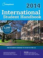 International Student Handbook 2014