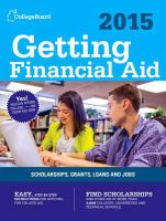 Getting Financial Aid 2015