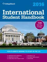 International Student Handbook 2016