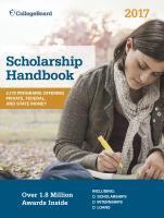 Scholarship Handbook 2017