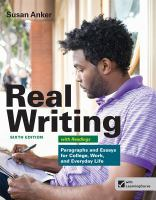 Real Writing With Readings (6th)