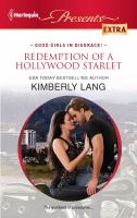 Redemption of A Hollywood Starlet