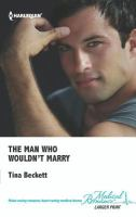The Man Who Wouldn't Marry