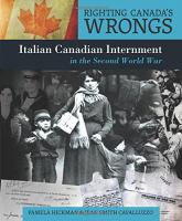 Italian Canadian Internment in the Second World War