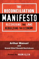 The Reconciliation Manifesto