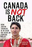 Canada Is Not Back