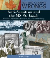 Anti-Semitism And The MS St. Louis *