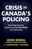 Crisis in Canada's Policing