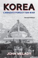 Korea, Canada's Forgotten War