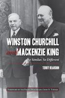 Winston Churchill and Mackenzie King