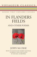 In Flanders Felds and Other Poems