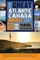 The Great Atlantic Canadian Bucket List