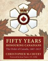 Fifty Years Honouring Canadians