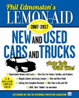 Lemon-aid ... New and Used Cars and Trucks
